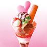 【今年も登場】期間限定<br>「ためちゃんの恋 パフェ」<br>西尾自慢の人気パフェ。オススメです。